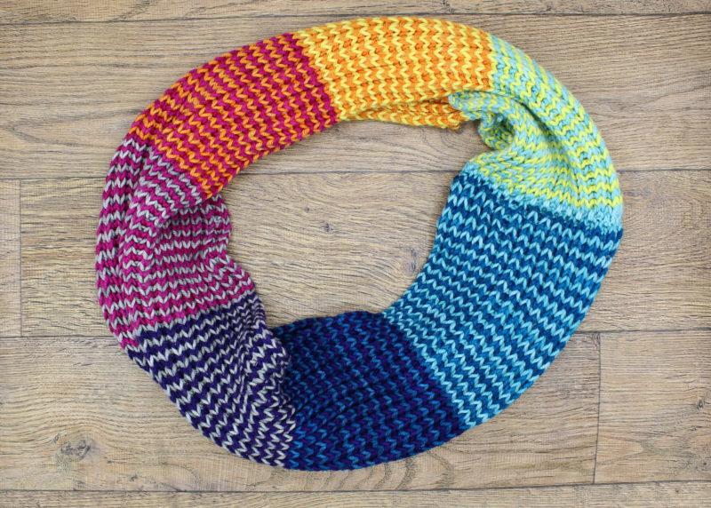 strata cowl baah yarn