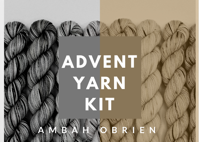 Ambah O'Brien Advent Yarn Knitting Kit